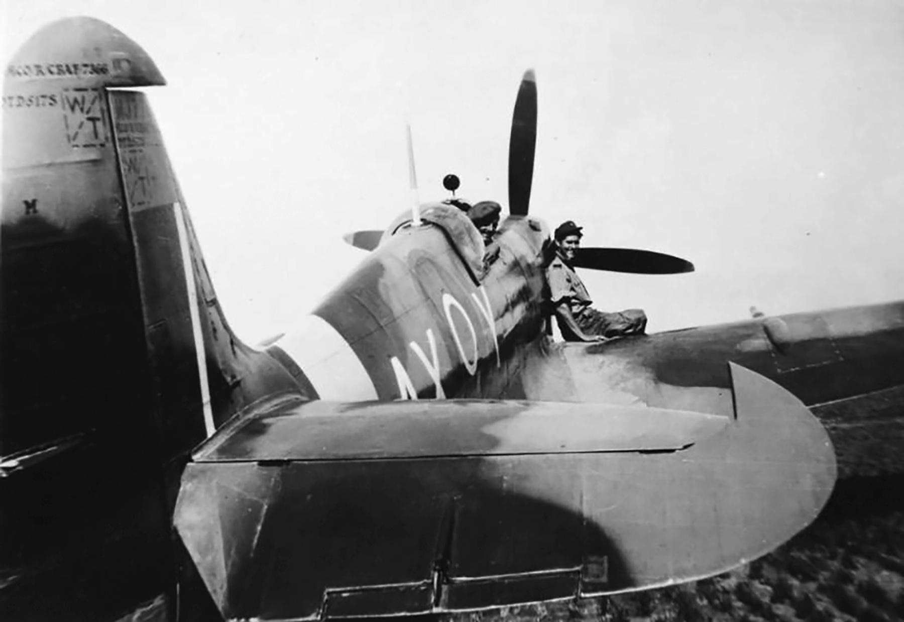 Spitfire MkIX SAAF 1Sqn AXY MA423 Italy 1943 01