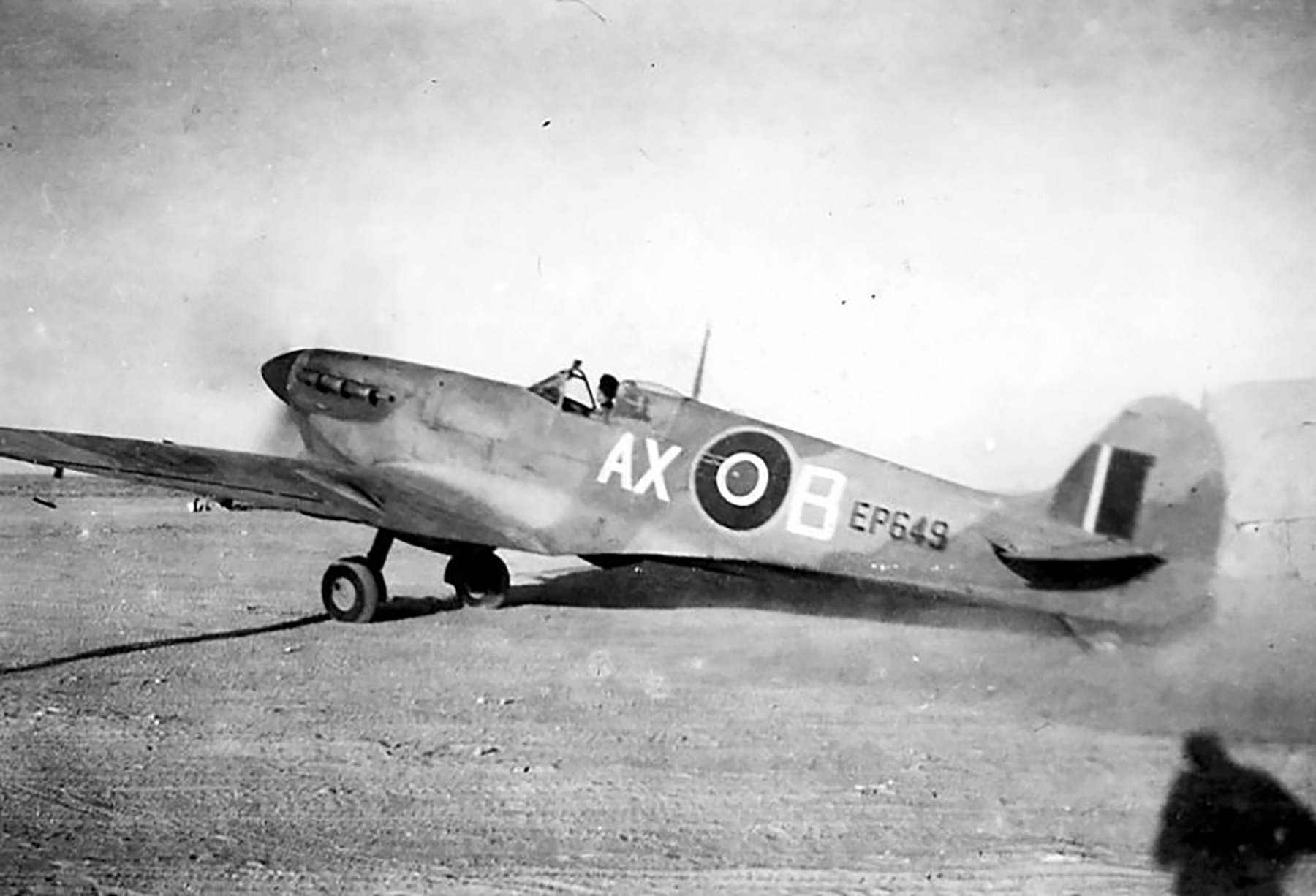 Spitfire MkVbTrop SAAF 1Sqn AXB EP649 1943 05