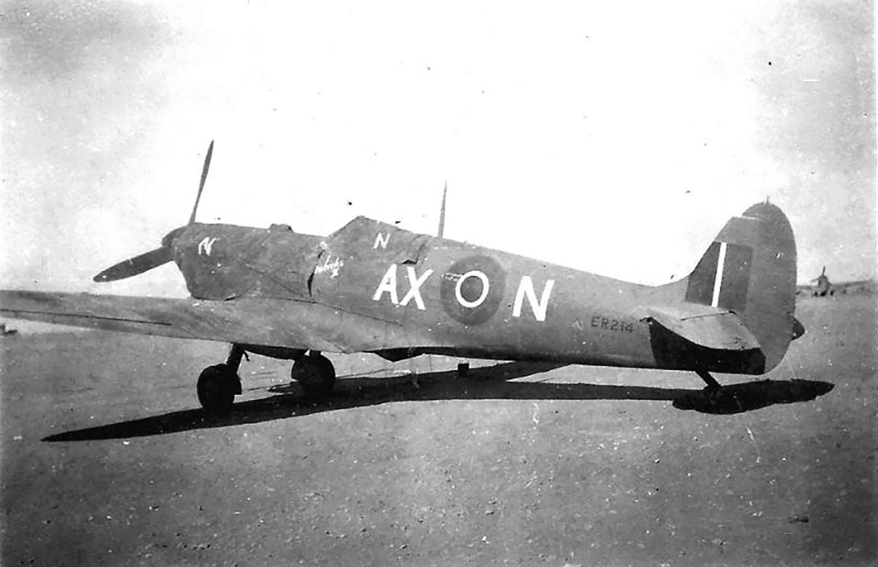 Spitfire MkVbTrop SAAF 1Sqn AXN ER214 Tunisia 1943 01