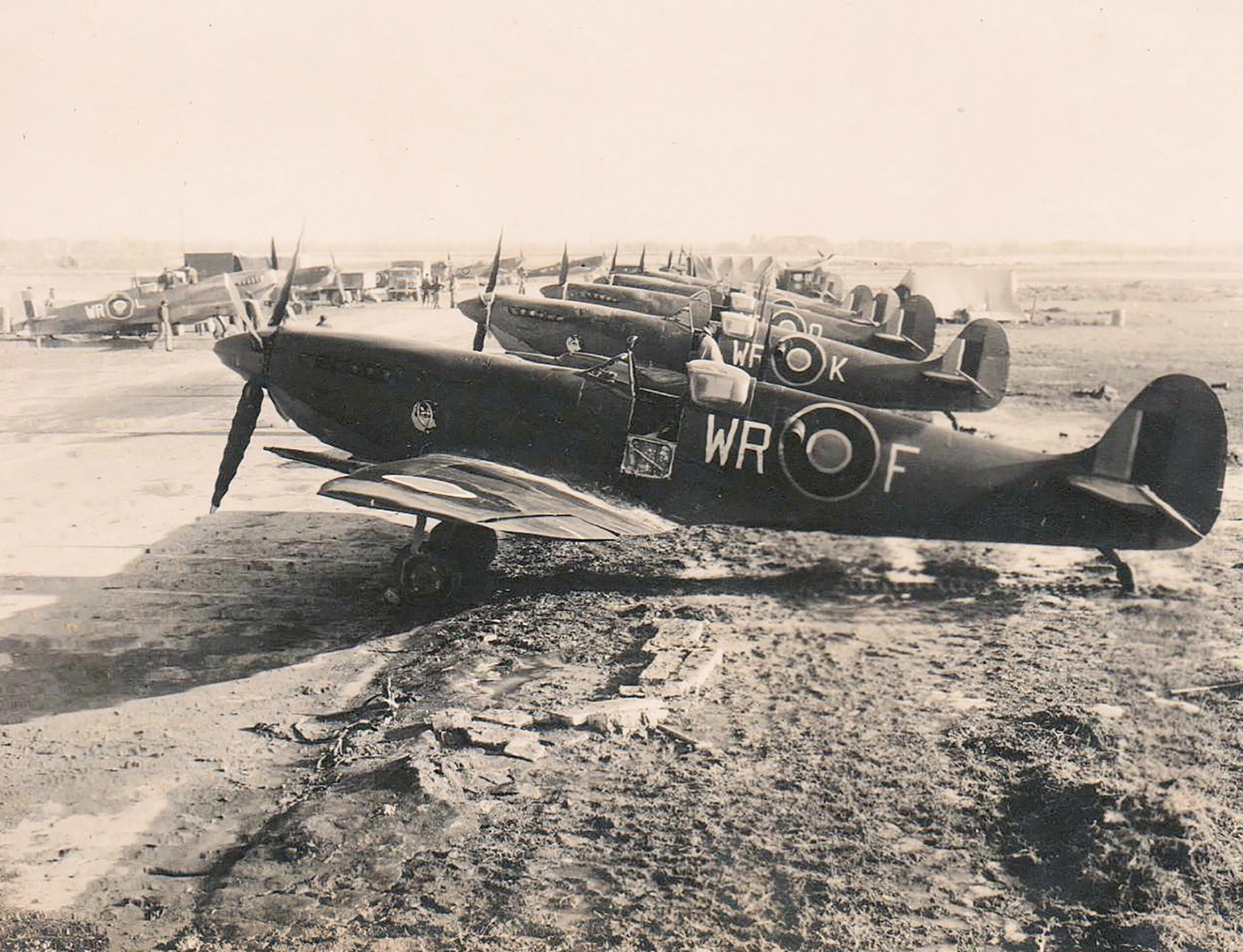 Spitfire LFIXc SAAF 40Sqn MK151 Italy 1943 01