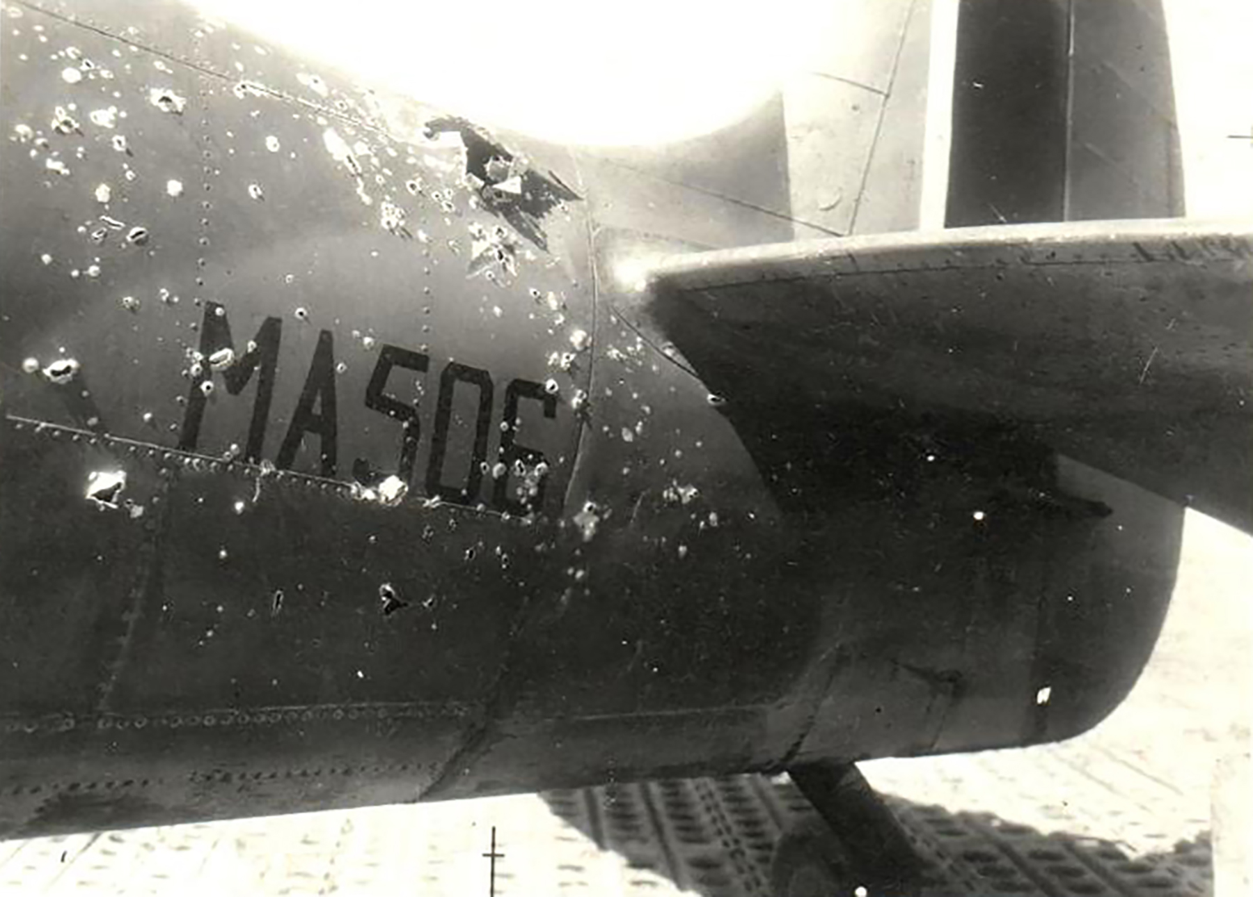 Spitfire MkIX SAAF 40Sqn WRF MA506 Italy 1944 03