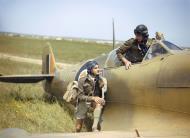 Asisbiz Spitfire LFVb SAAF 40Sqn WRR Aboukir filter F24 camera ER622 at Gabes Tunisia April 1943 IWM TR1033