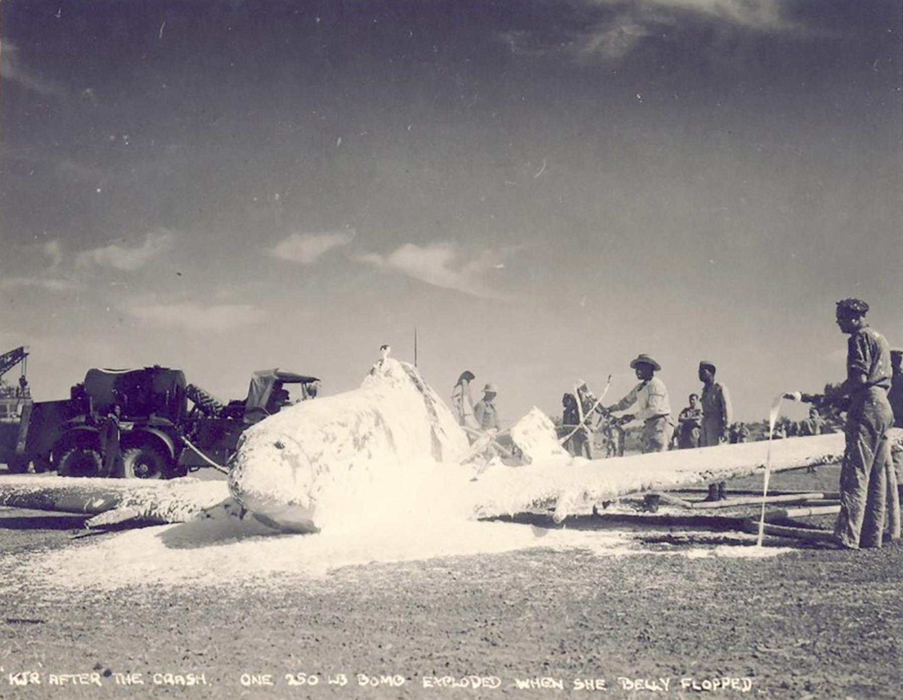 Spitfire LFIX SAAF 4Sqn KJR Lt Burger MJ738 Sinella Italy May 1944 01