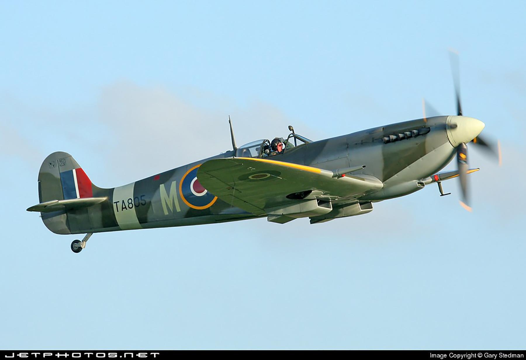 Airworthy Spitfire warbird HFIX SAAF FXM TA805 01