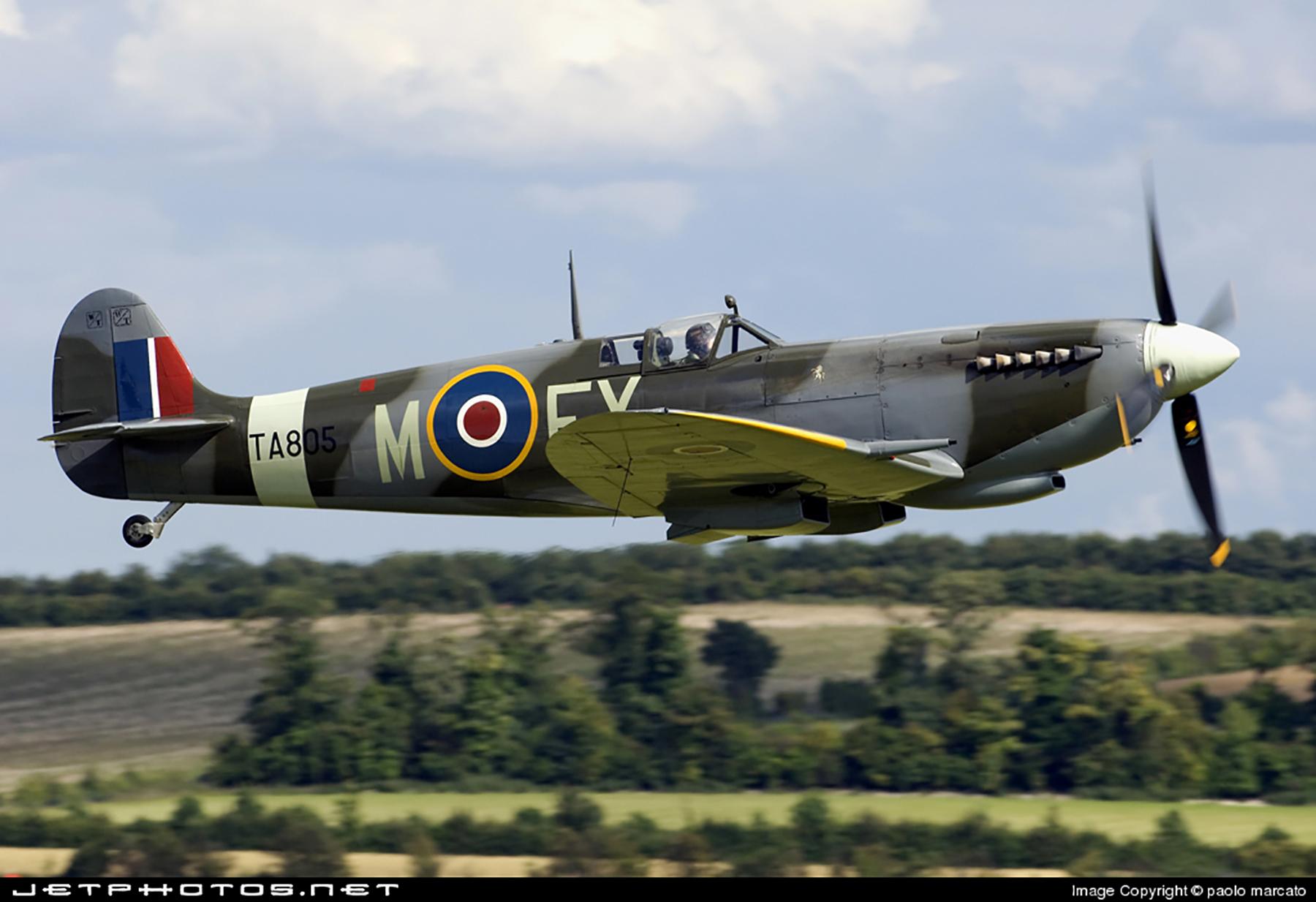 Airworthy Spitfire warbird HFIX SAAF FXM TA805 02