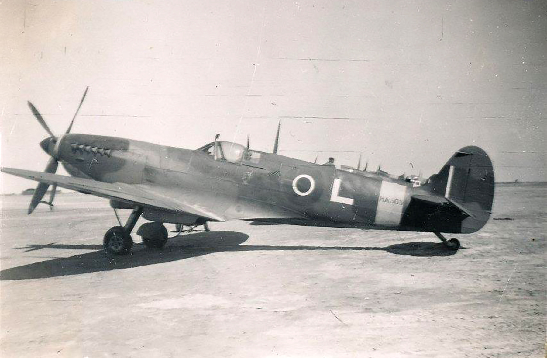 Spitfire MkIX SAAF L MA505 01