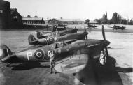 Asisbiz Spitfire MkVcTrop SAAF 11OTU AP AY and AU Ishmalia 01