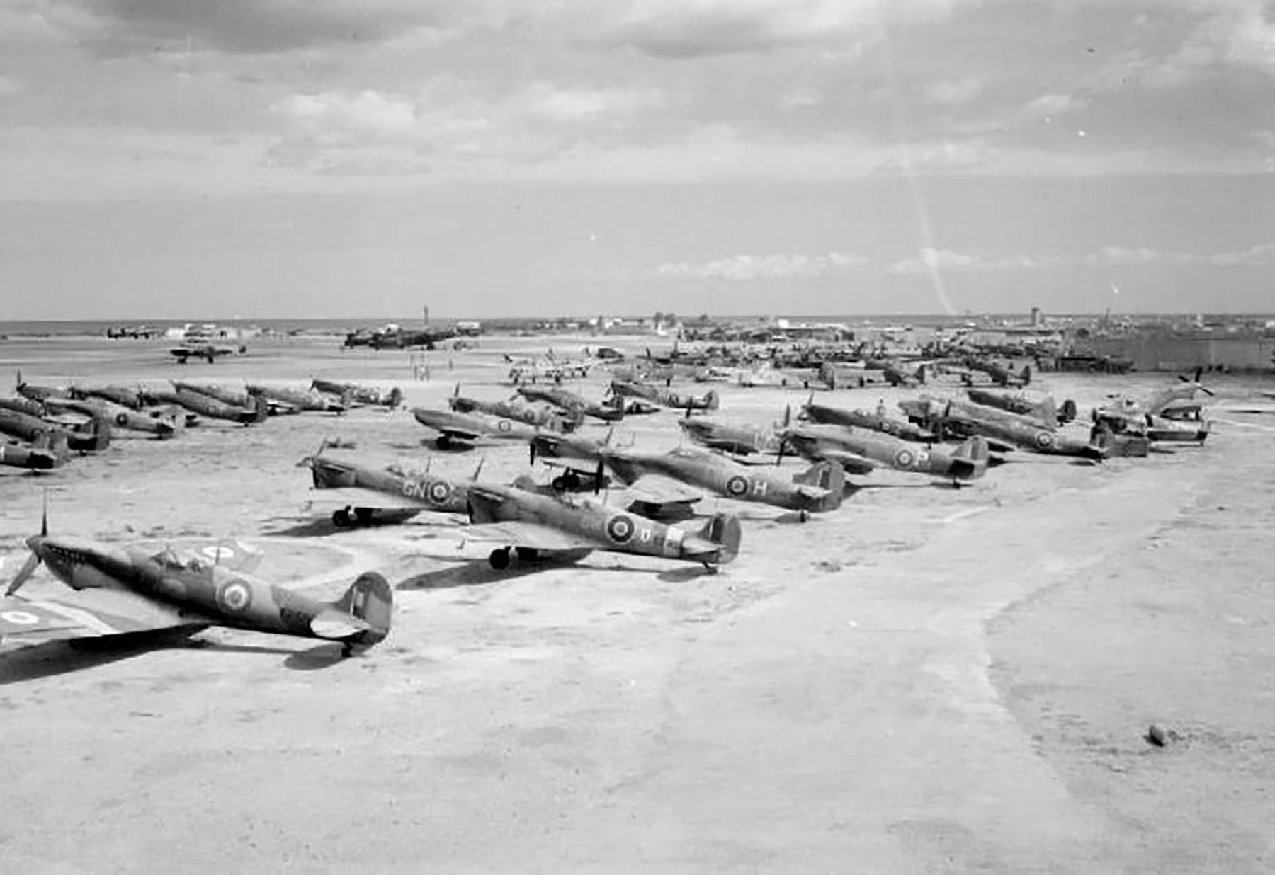 RAF 110 Maintenance Unit Brindisi Italy 01