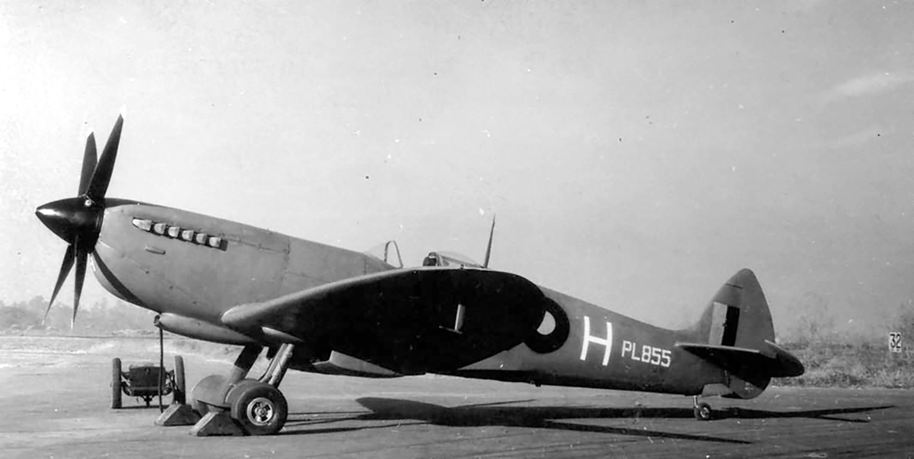 Recon Spitfire PRXI RAF 681Sqn White H PL855 Alipore Northeast India Sep 1944 web 01