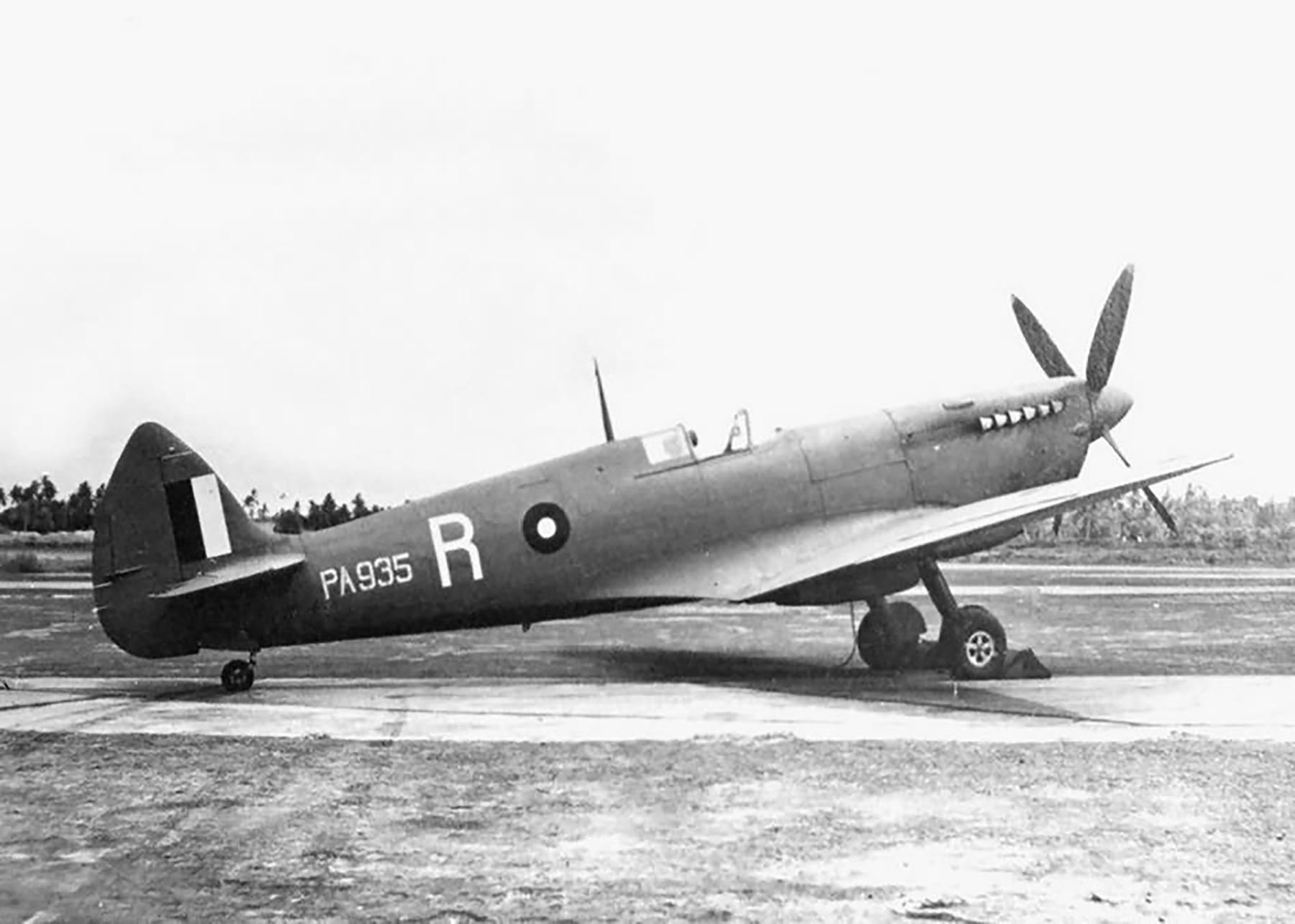Recon Spitfires PRIX RAF ACSEA White R PA935 recon aircraft Mar 1944 web 01