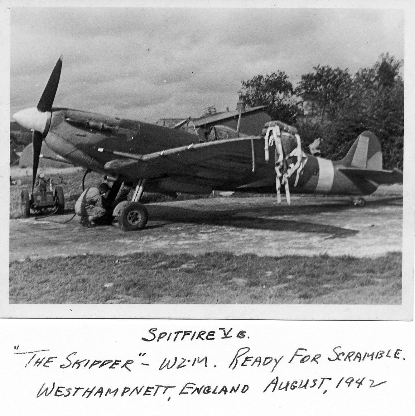 Spitfire MkVb RAF 309Sqn WZM Westhampnett England Aug 1942 01
