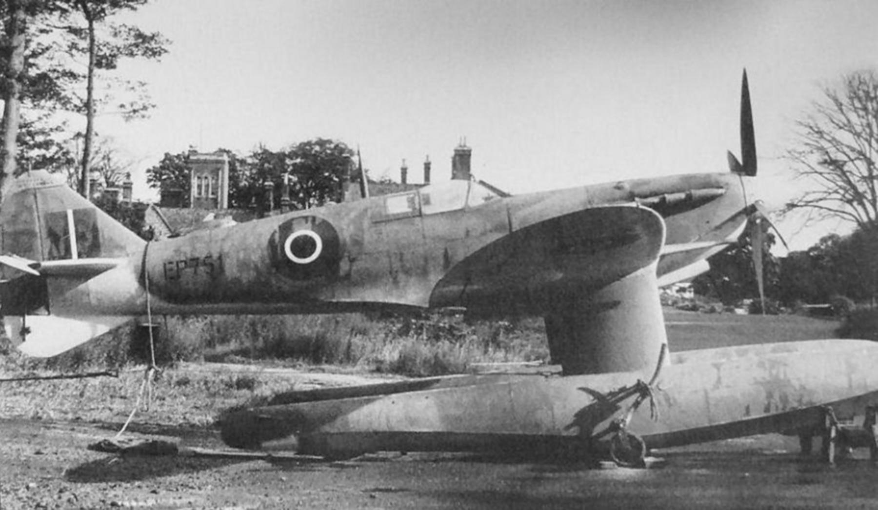 Spitfire MkVc RAF EP751 float plane in Scotland 1942 01