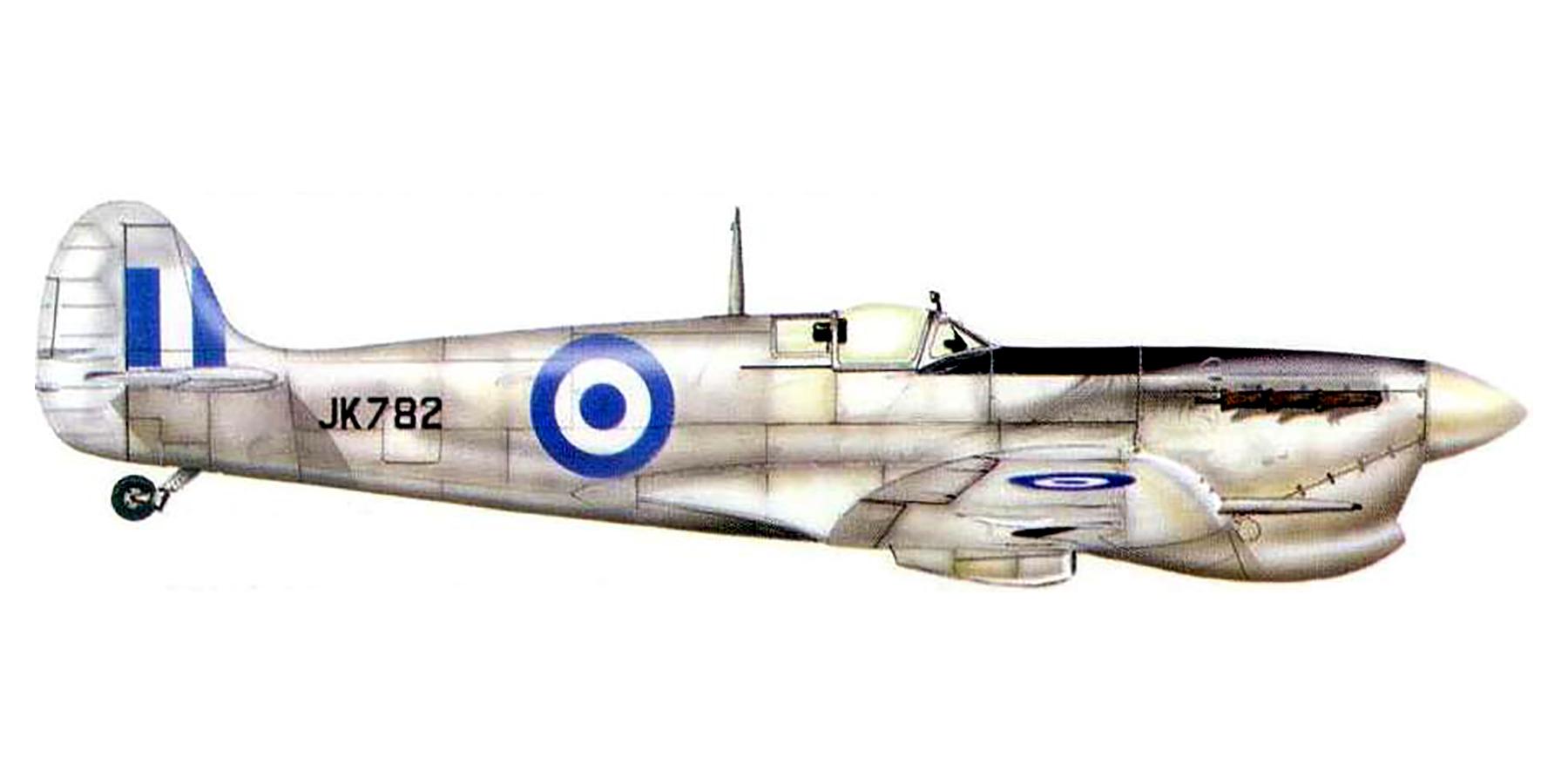 Spitfire MkVcTrop RHAF JK782 Thessalonica Greece 1945 0A