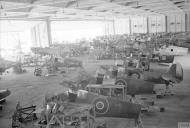 Asisbiz MU Spitfires RAF 144 Maintenance Unit at Maison Blanche Algeria IWM CNA4097