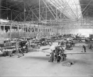Asisbiz MU Spitfires at RAF 156 Maintenance Unit Blida Algeria 1944 IWM CNA3305