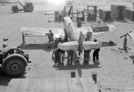 Asisbiz Spitfire LFVIII RAF 145 Maintenance Unit at Cazes Airport Casablance Morocco IWM CNA2193
