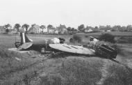 Asisbiz Spitfire MkI destroyed over France during the Battle of France May 1940 web 01
