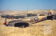 Asisbiz Spitfire MkIX RAF EN364 uc collapsed on landing Blida Algeria 7th Dec 1945 01