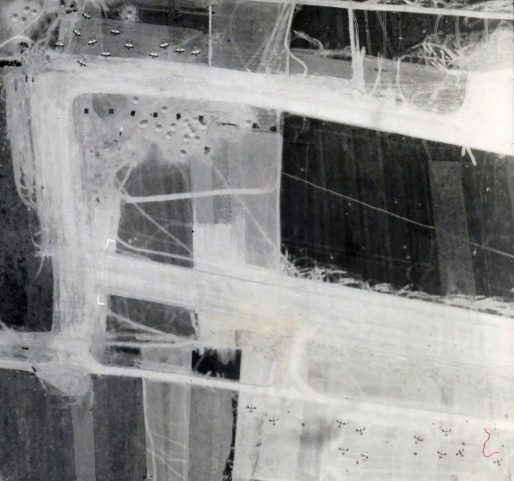 USAAAF 7PG22FS aerial recon photo to ALG B3 Sainte Croix sur Mer June 12 1944 02