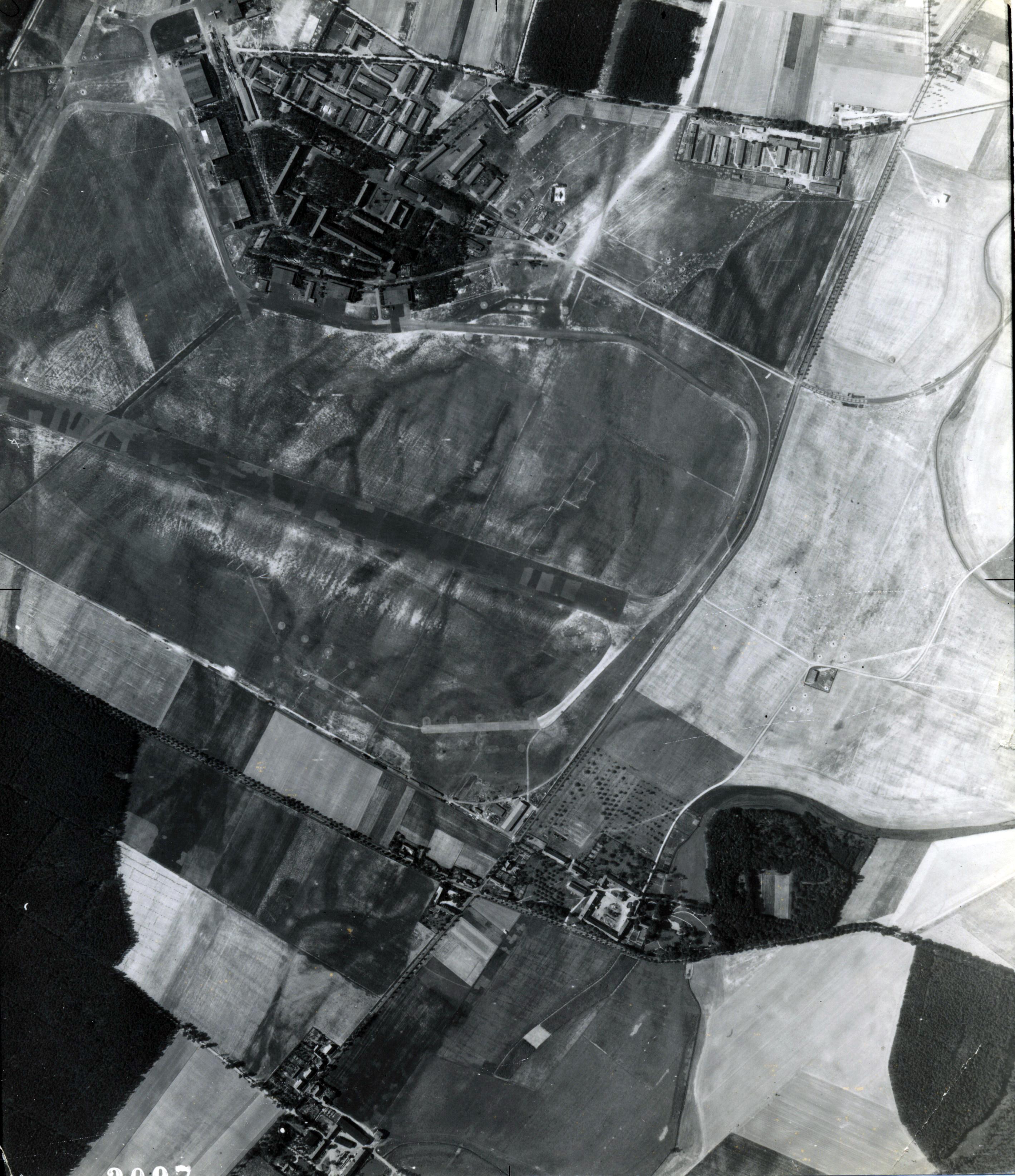 USAAAF 7PG22FS aerial recon photo to Alt Lonnewitz Luftwaffe Factory Airfield August 24 1944 01