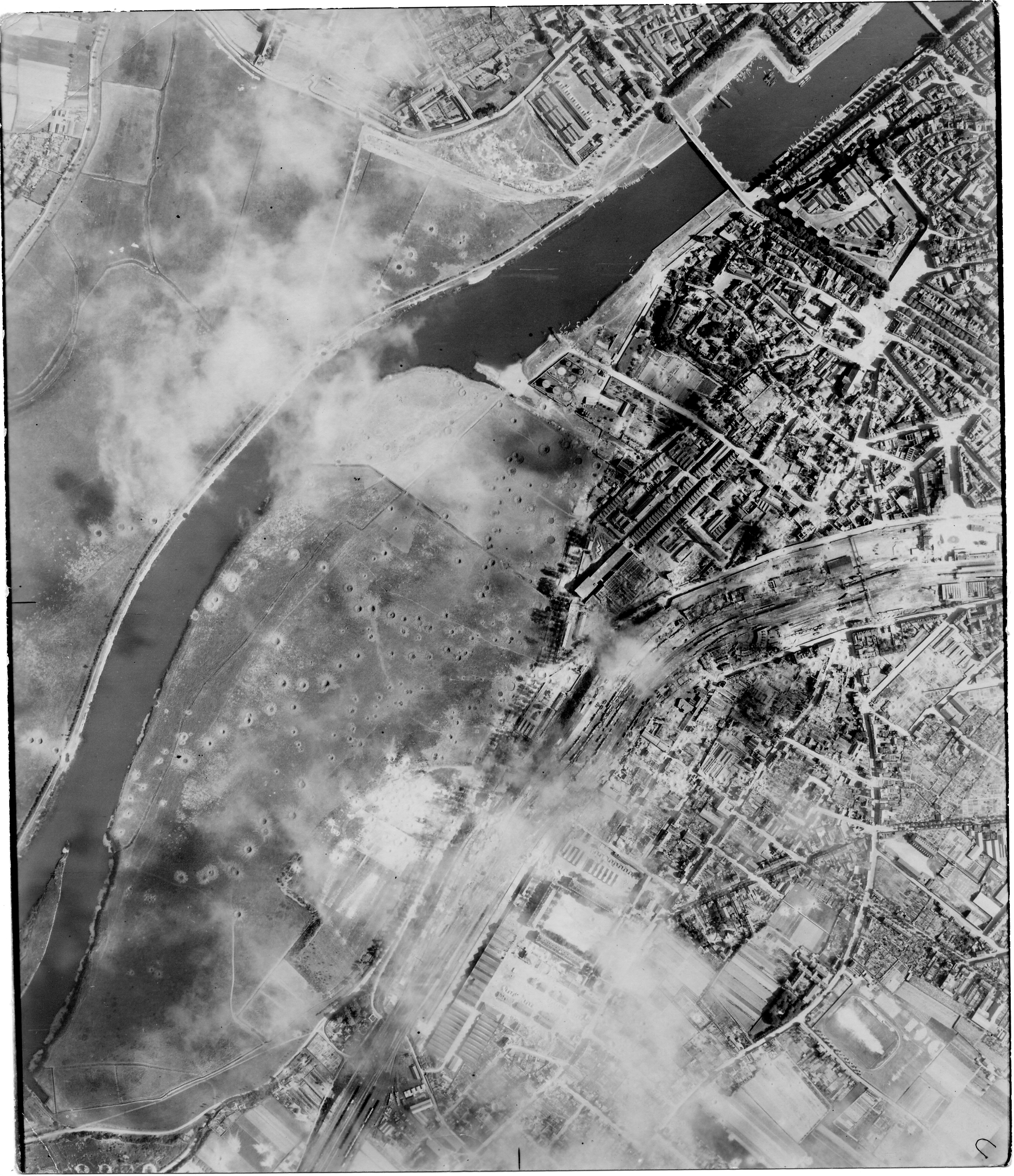 USAAAF 7PG22FS aerial recon photo to Angers France June 12 1944 02