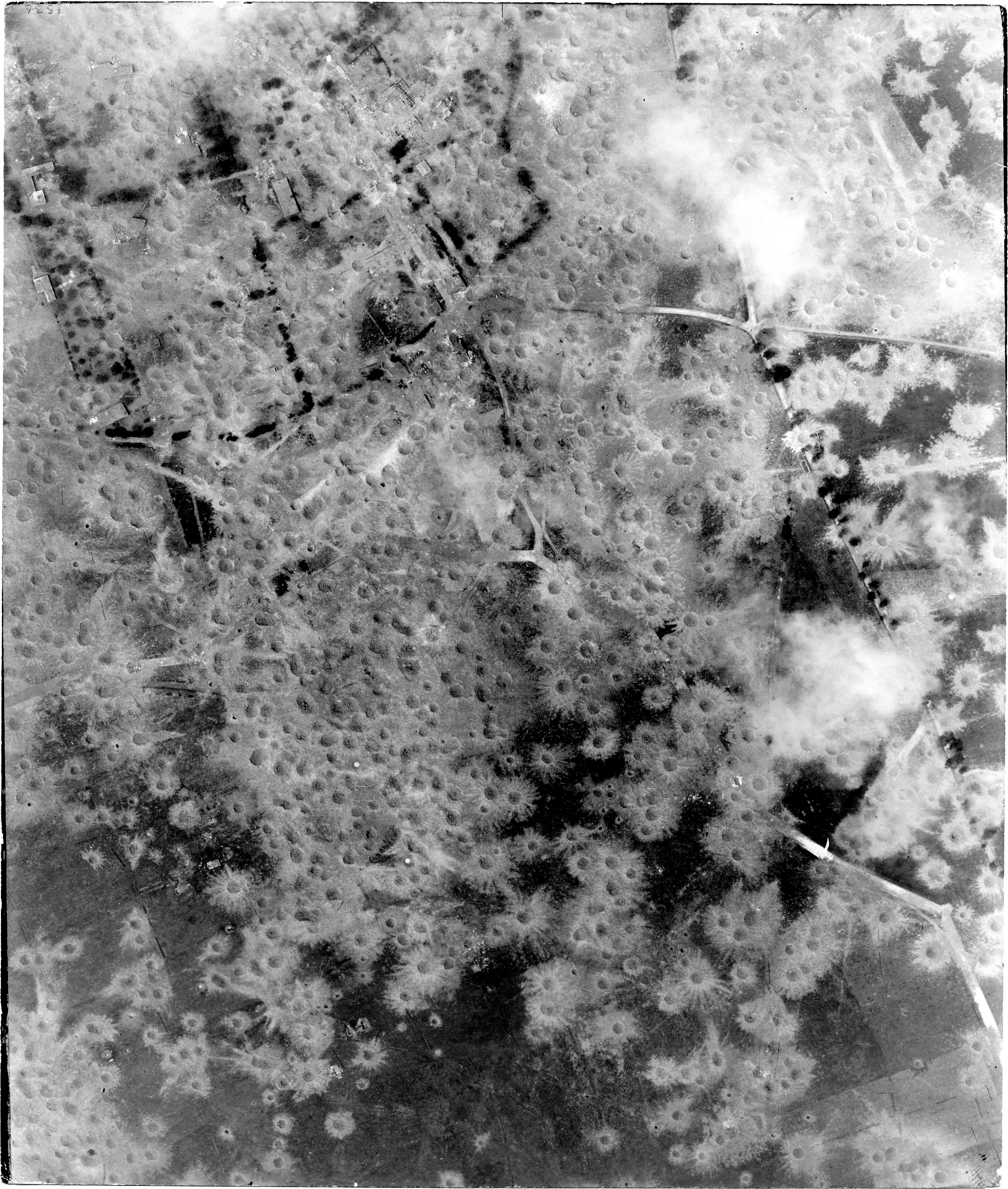 USAAAF 7PG22FS aerial recon photo to Beauvoir V Weapons Noball France July 7 1944 01