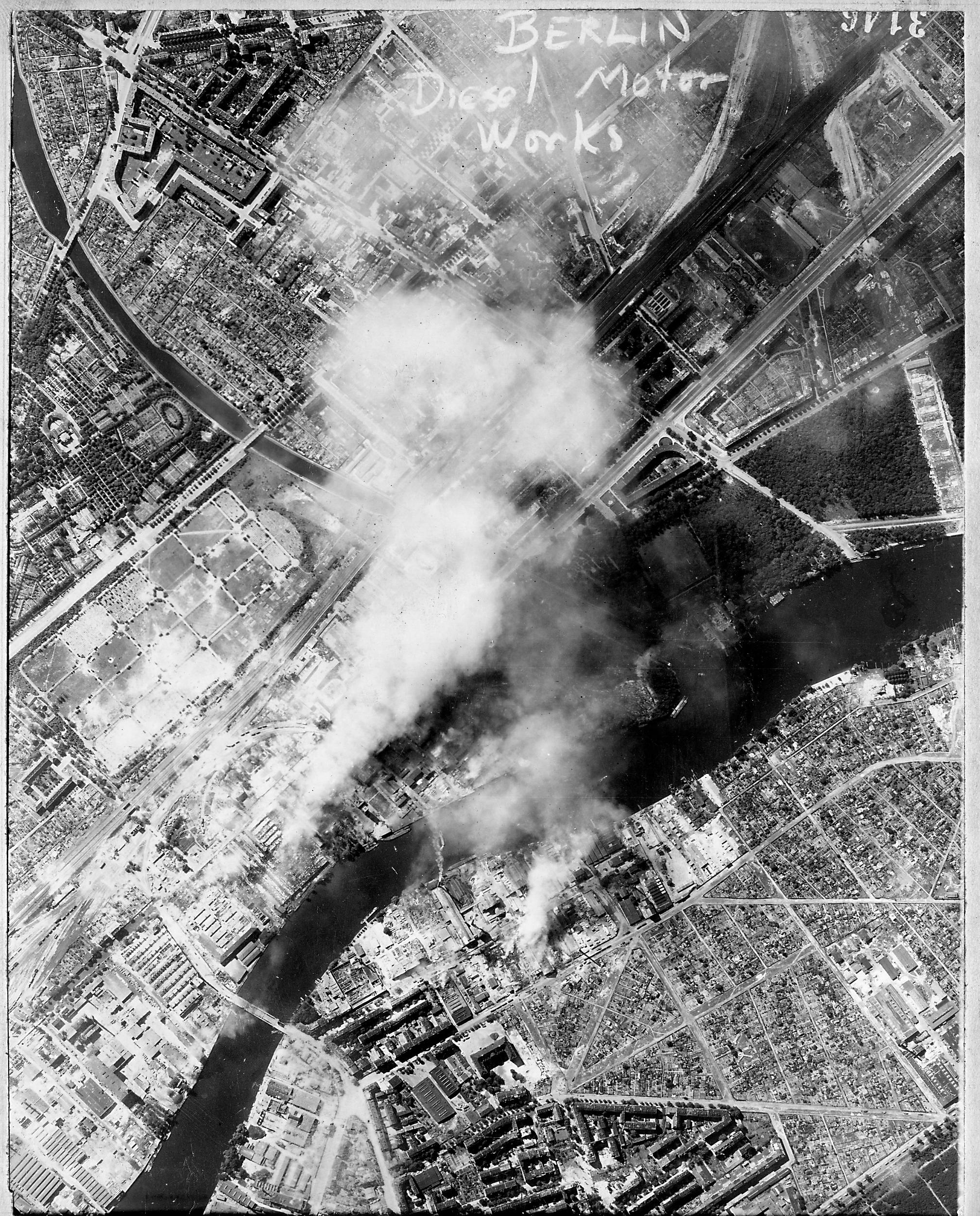 USAAAF 7PG22FS aerial recon photo to Berlin Diesel Motor Works August 6 1944 01