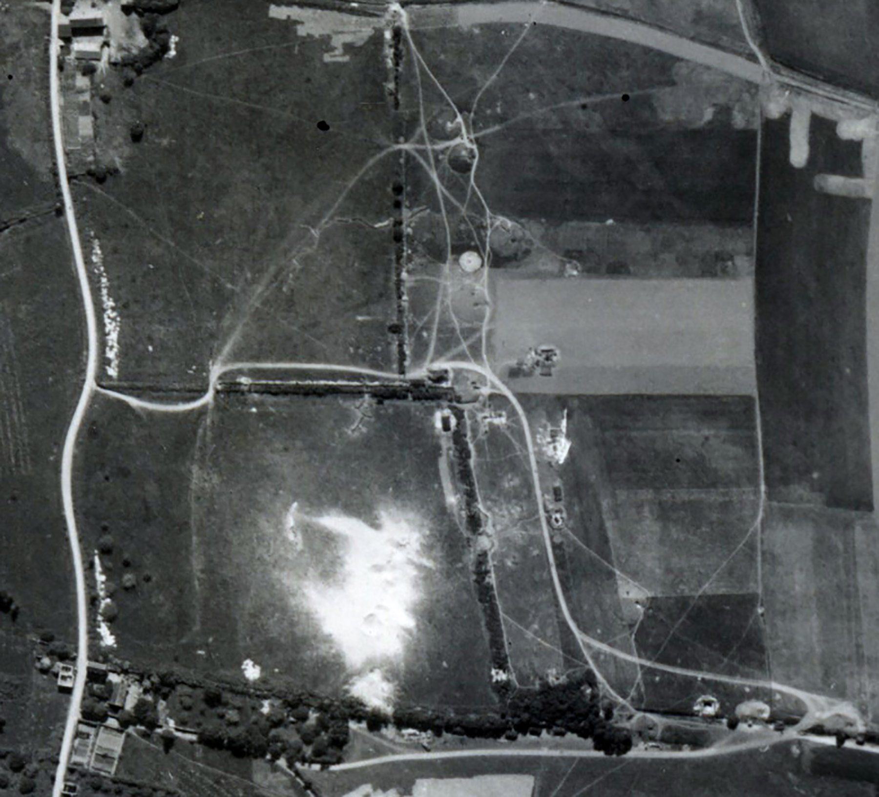 USAAAF 7PG22FS aerial recon photo to Juno Beach area France June 12 1944 04