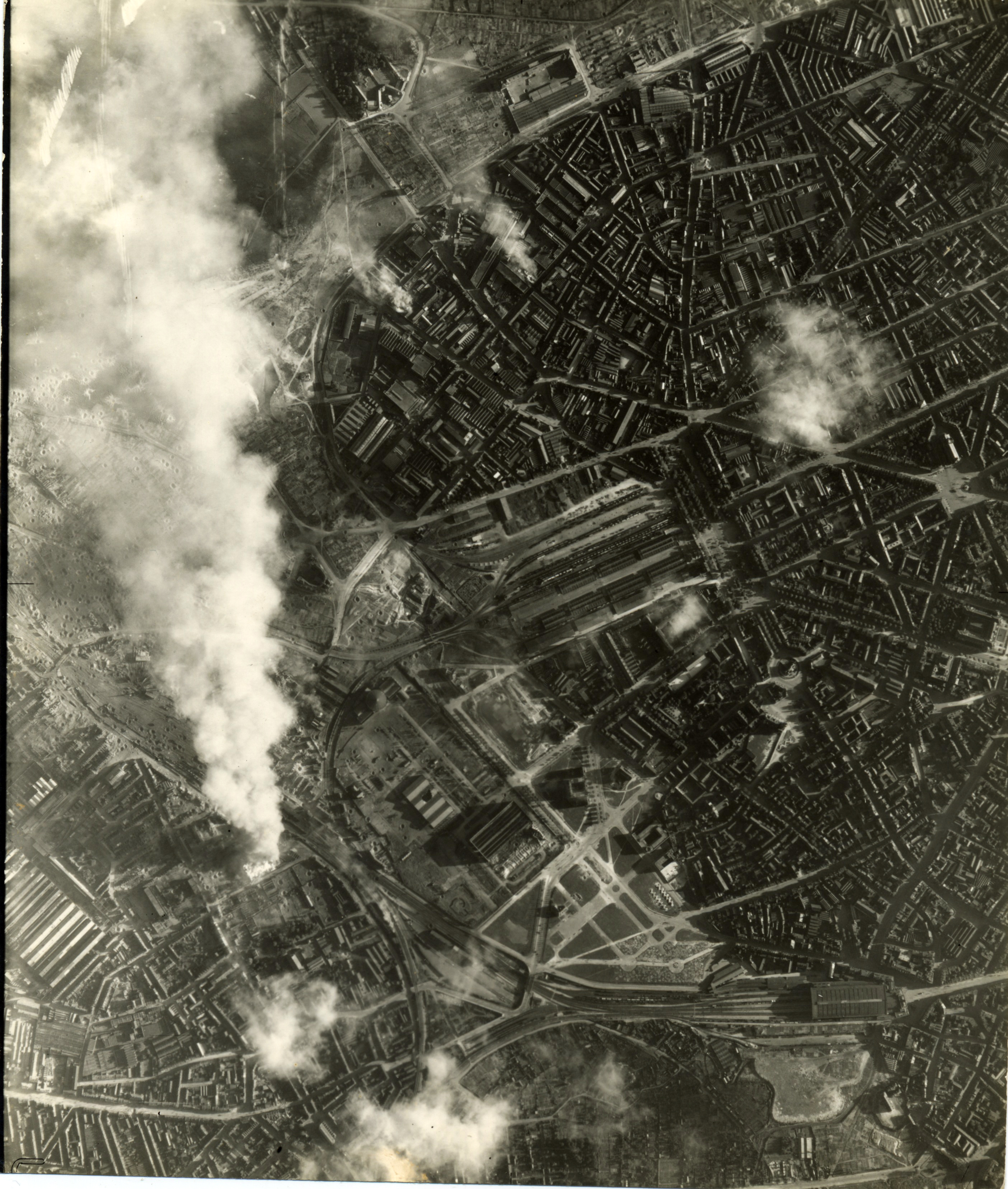 USAAAF 7PG22FS aerial recon photo to Lille France June 22 1944 01