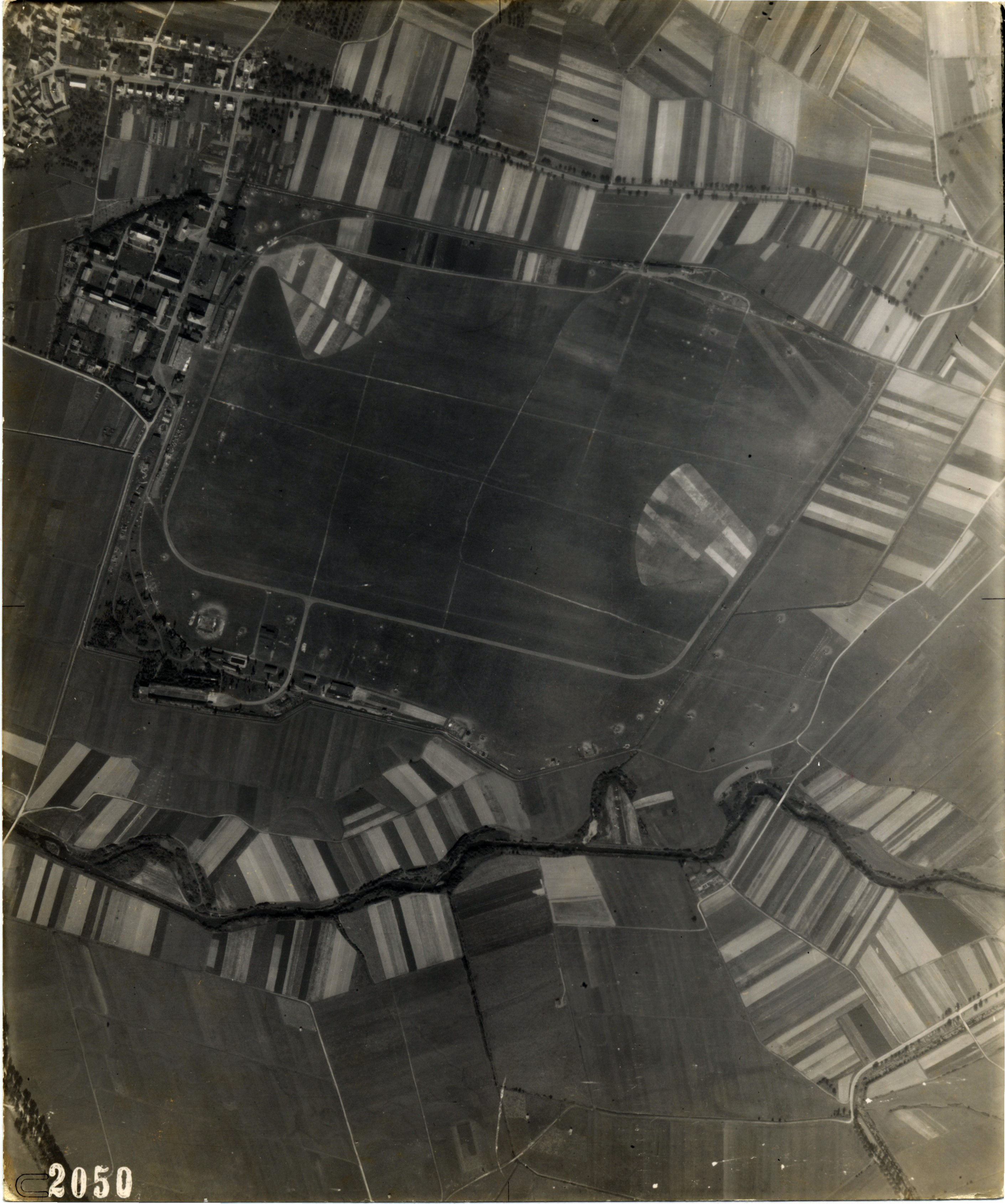 USAAAF 7PG22FS aerial recon photo to Luftwaffe Airfield Germany August 12 1944 01