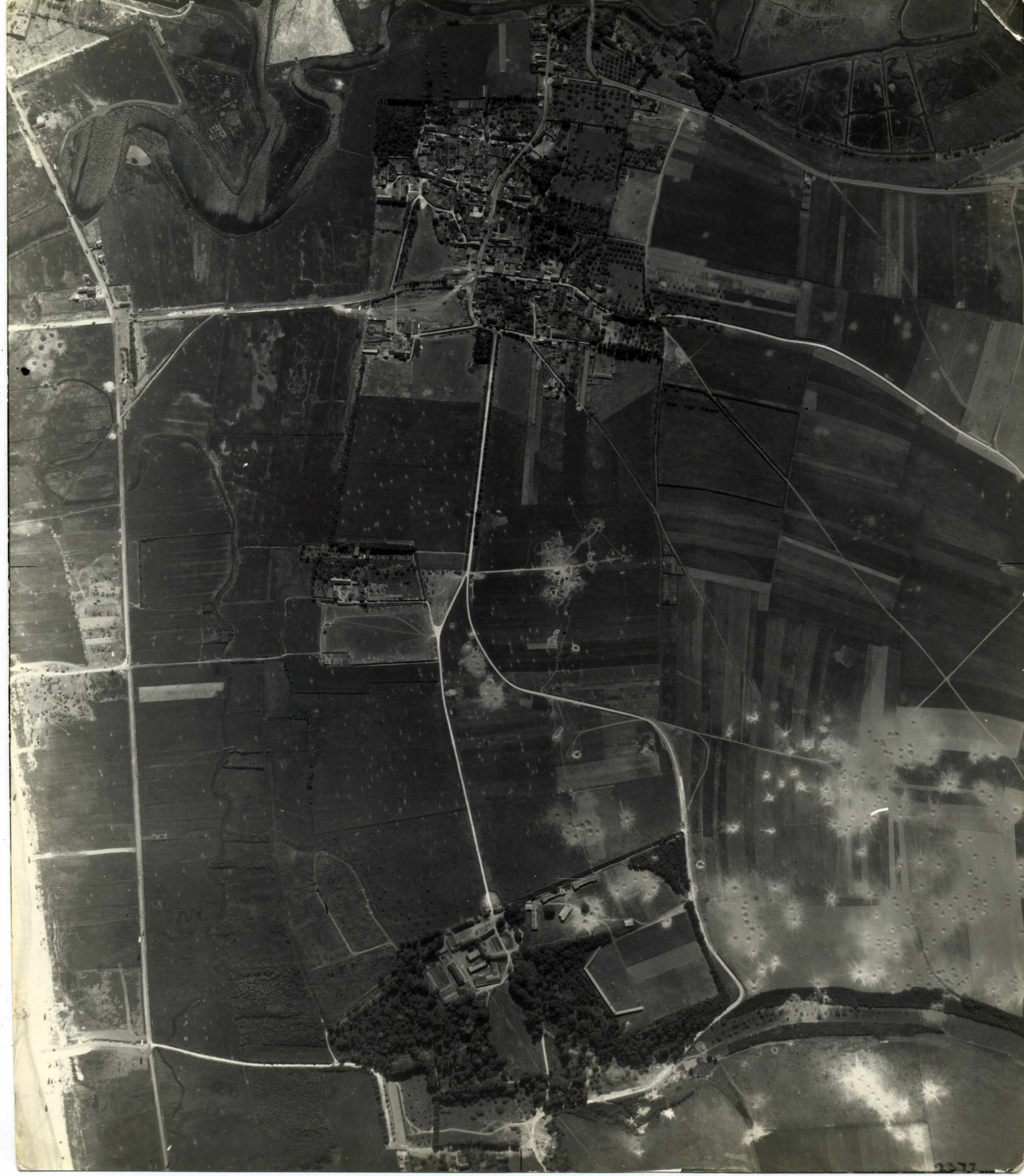 USAAAF 7PG22FS aerial recon photo to South of Juno Beach area France June 12 1944 02