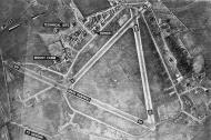 Asisbiz USAAAF 7PG22FS aerial recon photo showing the Mount Farm airfield England Jan 1946 01