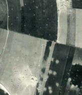 Asisbiz USAAAF 7PG22FS aerial recon photo showng downed aircraft Juno Beach area France June 12 1944 01