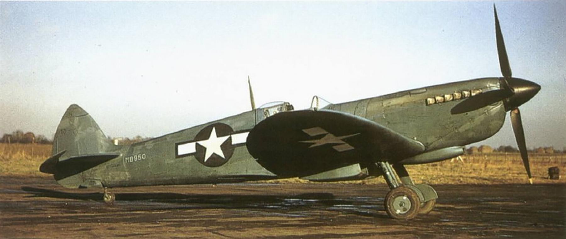 Spitfire PRXIT USAAF 7PRG14PS MB950 Oxfordshire 1944 02