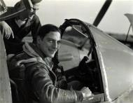 Asisbiz Aircrew USAAF 7PRG pilot Lt Robert Kraft In F 5 Cockpit 01