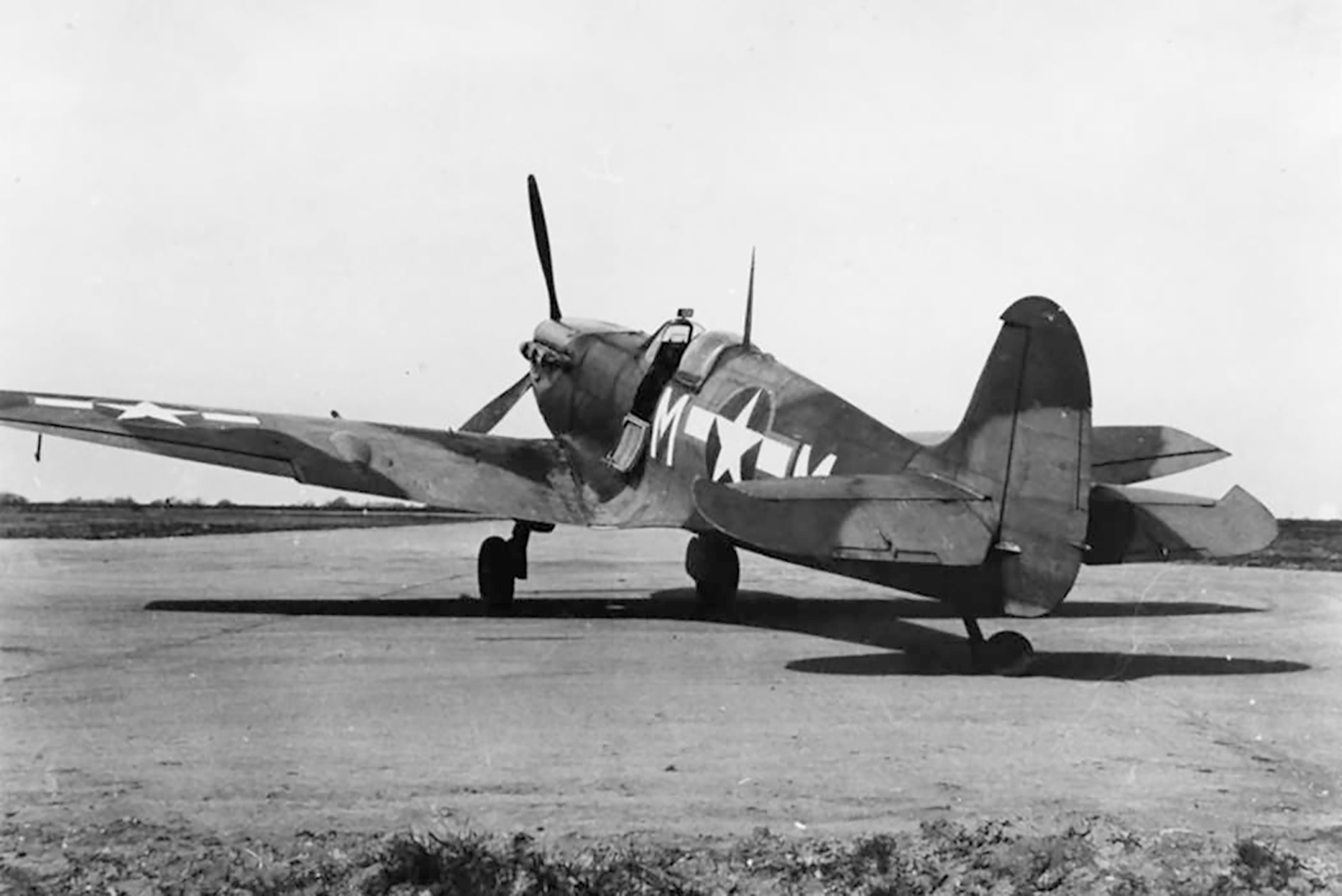 Spitfire MkVb USAAF 67TRG12TRS ZMM 26th Mar 1944 01