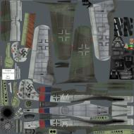 Asisbiz IL2 P3 Ta 152C JG7 (W44+) Praga Ruzyny AF 1945