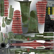 Asisbiz IL2 TT Ta 152C JV44 Red 8 Germany 1944