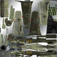 Asisbiz IL2 TT Ta 152C 9.KG27 (Y12+I) France June 1944