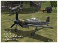 Asisbiz IL2 P3 Ta 152C 4.SG10 (W6+ ) Prerau Czchoslovakia 1945 V0A