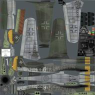 Asisbiz IL2 P3 Ta 152C 4.SG10 (W6+ ) Prerau Czchoslovakia 1945