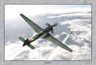 Asisbiz Art Painting Ta 152H1 JG301 Green 9 Willi Reschke 1944 0A