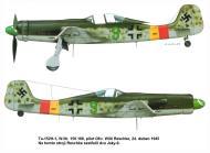Asisbiz Focke Wulf Ta 152H1 JG301 Green 9 Willi Reschke WNr 150168 Germany 1945 0A