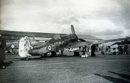 Asisbiz Focke Wulf Ta 152H1 JG301 Green 9 with RAF markings WNr 150168 England 1945