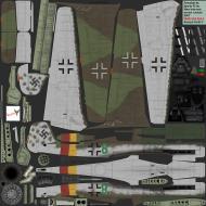 Asisbiz IL2 AS Ta 152H1 Stab JG301 Green 8 Germany 1945
