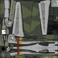 Asisbiz IL2 CF Ta 152H1 7.JG301 Yellow 1 Germany 1945 NM