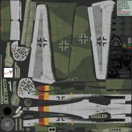 Asisbiz IL2 CF Ta 152H1 7.JG301 Yellow 1 Germany 1945