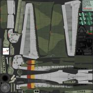 Asisbiz IL2 CF Ta 152H1 JG301 Green 9 Willi Reschke Germany 1945 NM