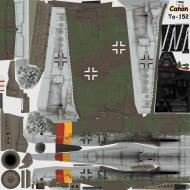 Asisbiz IL2 CN Ta 152H1 JG301 Black 13 Willi Reschke Germany 1945