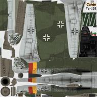 Asisbiz IL2 CN Ta 152H1 JG301 Green 9 Willi Reschke Germany 1945
